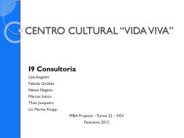 CENTRO CULTURAL *VIVA VIDA* - Moodle