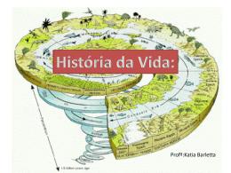 História da Vida: - Escola Rainha do Brasil