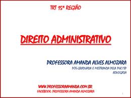 Ato Administrativo - Professora Amanda