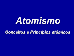 (4 parte) Atomismo ppt