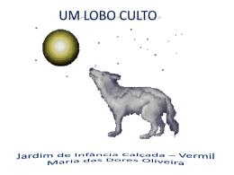 O lobo culto