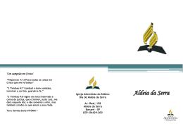 21/04/2012 - IASD Alphaville e Aldeia da Serra