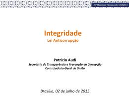 Integridade – Lei Anticorrupção_Patricia Audi