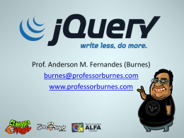 - Professor Burnes