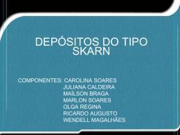 Depósitos do tipo Skarn