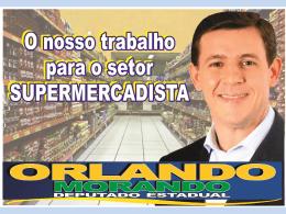 Supermercadistas - deputado Orlando Morando