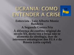 Ucrania: como entender a crise