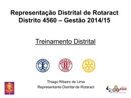 Treinamento Geral para Rotaract Club