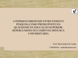 Painel_4_Maria_Isabel_Cunha - I Simpósio Internacional Sobre