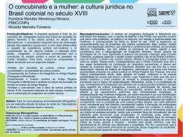 O concubinato e a mulher: a cultura jurídica no Brasil