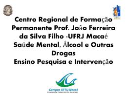 Centro Regional de Formação Permanente Prof