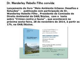 Dr. Wanderley Rebello Filho convida