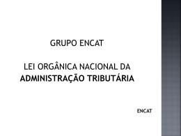Apresentação LOAT Nacional ENCAT - Sindicato dos Servidores da