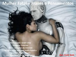 Mulher Fatal - Mensagens em Power Point