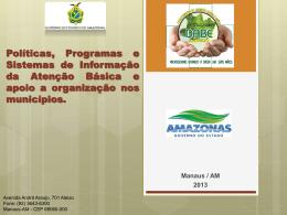 Políticas, Programas e Sistemas de Informação da