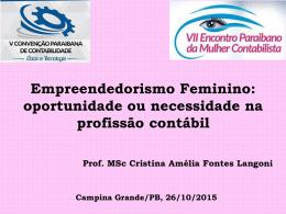 Empreendedorismo Feminino - CRC-PB