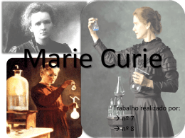 Marie Curie - TabelaPeriodica