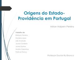 Estado-Providência em Portugal