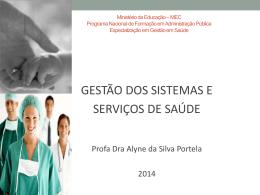 aula Gestão dos Sistemas e serviços de saúde - UEPB