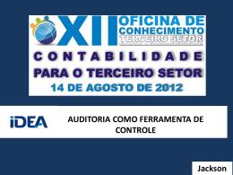Auditoria - CRC-GO