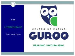 realismo português - Centro de Ensino Guroo