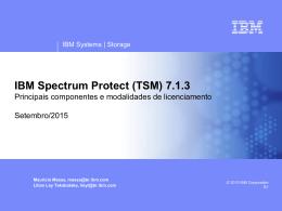 Licenciamento por Servidor (Spectrum Protect Entry)
