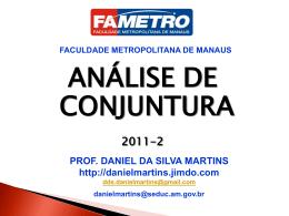 - Prof. Daniel Martins