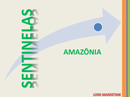 INAUB - SENTINELAS DA AMAZONIA CONGRESSO