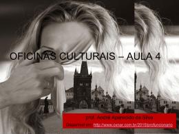 Oficinas Culturais(aula 4) - Arquivo no formato
