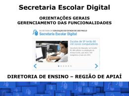 Apresentação SED - Reunião 16-10-2014 - CIE