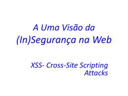 Ataques XSS