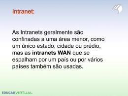 Exercícios Internet / Rede