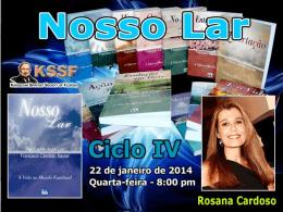 Nosso Lar - Cap. 21 ao 30 (RosanaC)