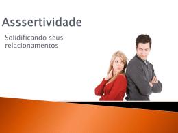 Assertividade - Pascom Diocesana de Nova Iguaçu