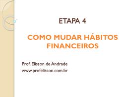 paradigmas - Prof. Elisson de Andrade