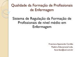 BELEM DO PARA - Qualidade da Formacao de Profissionais de