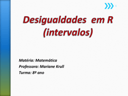 Intervalos - WordPress.com