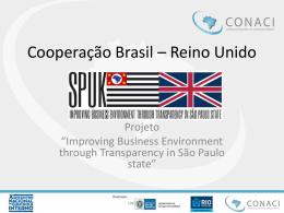 Matt Woods – Cooperação Brasil – Reino Unido