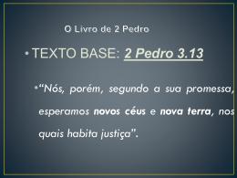 O Livro de 2 Pedro