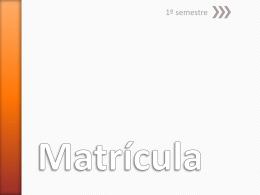 Matrícula - Centro Paula Souza