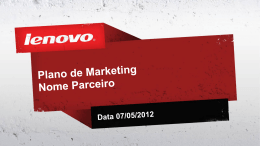 Enviar Plano de Marketing