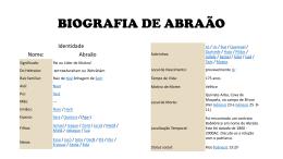 biografia de abraão