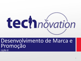 Lição 6 - Technovation