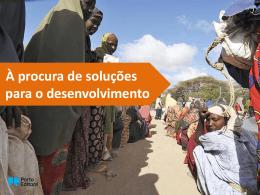 À procura de soluções para o desenvolvimento