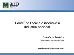 Certificado de Conteúdo Local