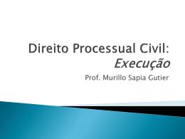Execução – Fase Expropriatória