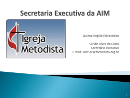 AIM - Orientações
