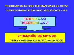 tema: condensador ectoplásmico