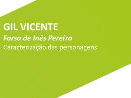 Farsa de Inês Pereira: caracterização das personagens