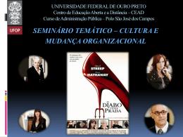 UNIVERSIDADE FEDERAL DE OURO PRETO Centro de Educação